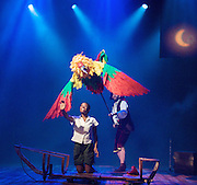 Swallows &amp; Amazons - the Bristol Old Vic Production - <br /> a new musical by Helen Edmoundson and Neil Hannon<br /> based on a book by Arthur Ransome<br /> presented by the National Theatre in association with Children's Touring Partnership  <br /> <br /> Celia Adams (as Nancy Blackett)<br /> <br /> Akiya Henry (as Titty Walker)<br /> <br /> Richard Holt (as John Walker)<br /> <br /> Katie Moore (as Susan Walker)<br /> <br /> Sophie Waller (as Peggy Blackett)<br /> <br /> Stewart Wright (as Roger Walker)<br /> <br /> Greg Barnett (as Flint)<br /> <br /> Francesca Bradley<br /> <br /> Neal Craig (as Young Billy)<br /> <br /> Adrian Garratt (as Mr Jackson)<br /> <br /> Alsion George (as Pirate)<br /> <br /> Hilary Jones (as Mother)<br /> <br /> Jon Trechard (as Policeman)<br /> <br /> <br /> Photograph by Elliott Franks