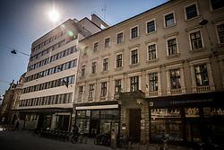 Nama shop, on March 29, 2017 at Cankarjeva street, Ljubljana, Slovenia. Photo by Vid Ponikvar / Sportida