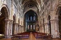 France, Saône-et-Loire (71), Chalon-sur-Saône, place Saint-Vincent, la cathédrale Saint-Vincent // France, Saône-et-Loire (71), Chalon-sur-Saône, Saint-Vincent cathedral