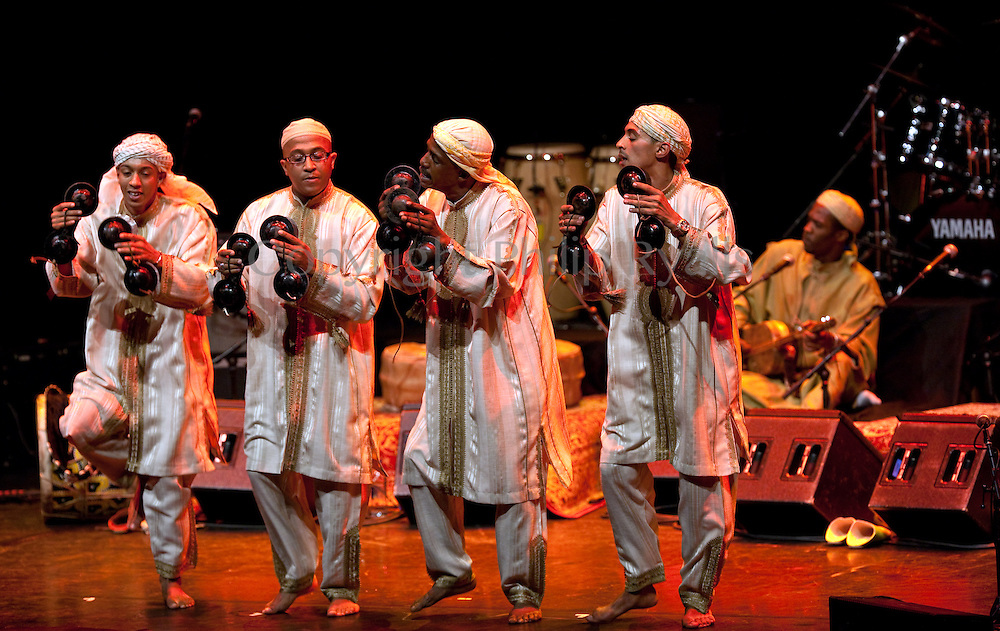 Gnawa Home Songs - Tamesloht Blues, Barbican, London, 27th September 2009.