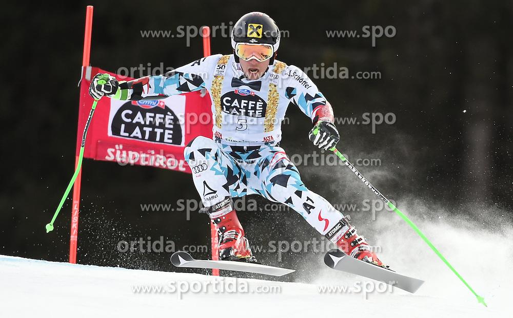 18.12.2016, Grand Risa, La Villa, ITA, FIS Weltcup Ski Alpin, Alta Badia, Riesenslalom, Herren, 1. Lauf, im Bild Marcel Hirscher (AUT) // in action during 1st run of men's Giant Slalom of FIS ski alpine world cup at the Grand Risa in La Villa, Italy on 2016/12/18. EXPA Pictures © 2016, PhotoCredit: EXPA/ Erich Spiess