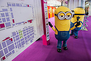 The Minions are evwerywhere, much to the delight of people of all ages - The annual London Toy Fair, the trade show for the toy and games industry, takes place at Olympia.
