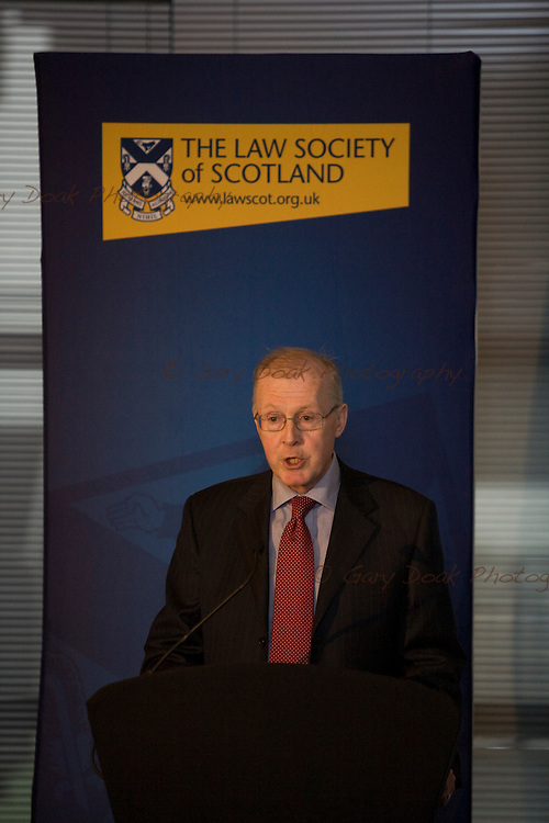 Law Society of Scotland. Special General Meeting. Michael Scanlan, president of the Scottish Law Agents<br /> Association