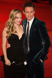 © licensed to London News Pictures. London, UK 05/12/2012. Amanda Seyfried and Eddie Redmayne attending World Premiere of Les Miserables in Leicester Square, London. Photo credit: Tolga Akmen/LNP