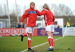 Gemma Evans of Bristol City  warms up prior to kick off- Mandatory by-line: Nizaam Jones/JMP- 31/03/2019 - FOOTBALL - Stoke Gifford Stadium - Bristol, England - Bristol City Women v Reading Women - FA Women's Super League 1