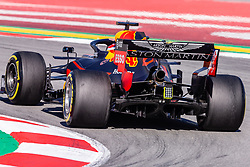 February 26, 2019 - Barcelona, Barcelona, Spain - Red Bull  aerodinamic detail of rear difussor  during the Formula 1 2019 Pre-Season Tests at Circuit de Barcelona - Catalunya in Montmelo, Spain on February 26. (Credit Image: © AFP7 via ZUMA Wire)