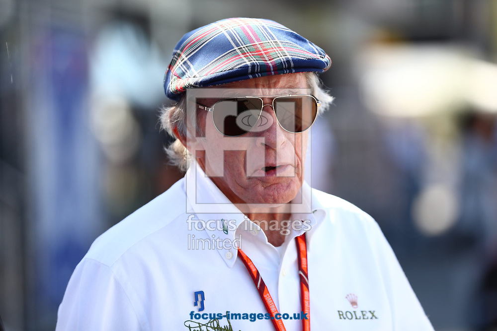 Jacky Stewart during the Italian Formula One Grand Prix at Monza National Race Track, Monza, Italy.<br /> Picture by EXPA Pictures/Focus Images Ltd 07814482222<br /> 03/09/2017<br /> *** UK & IRELAND ONLY ***<br /> <br /> EXPA-EIB-170903-0055.jpg