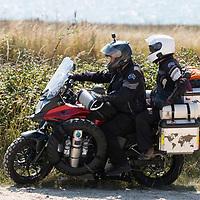 Roud the World Bikers, Freshwater, Isle of Wight, England, UK,