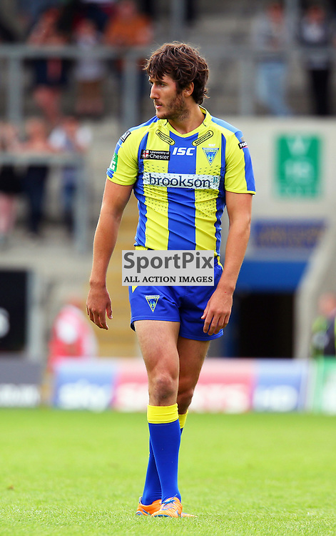 Stefan Ratchford of Warrington, Warrington Wolves vs Wakefield Wildcats, Super League, 10 August 2013. (c) Thomas Miller | SportPix.org.uk