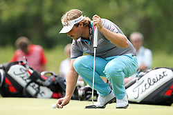 26.06.2015, Golfclub München Eichenried, Muenchen, GER, BMW International Golf Open, Tag 2, im Bild Victor Dubuisson (FRA) auf dem Green // during day two of the BMW International Golf Open at the Golfclub München Eichenried in Muenchen, Germany on 2015/06/26. EXPA Pictures © 2015, PhotoCredit: EXPA/ Eibner-Pressefoto/ Kolbert<br /> <br /> *****ATTENTION - OUT of GER*****