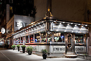 NYC: The Empire Diner, Chelsea, at night