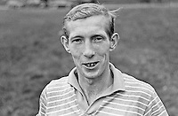 Billy Ferguson, footballer, Linfield FC, Belfast, N Ireland, UK, N Ireland International. October 1966. 196610000039<br /> <br /> Copyright Image from Victor Patterson, 54 Dorchester Park, Belfast, UK, BT9 6RJ<br /> <br /> Tel: +44 28 9066 1296<br /> Mob: +44 7802 353836<br /> Voicemail +44 20 8816 7153<br /> Email: victorpatterson@me.com<br /> Email: victorpatterson@gmail.com<br /> <br /> IMPORTANT: My Terms and Conditions of Business are at www.victorpatterson.com
