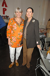 Left to right, LADY ANNE LAMBTON and LYN ROTHMAN at a lunch in aid of African Solutions To African Problems held at Il Bottaccio, 9 Grosvenor Place, London on 20th May 2008.<br /><br />NON EXCLUSIVE - WORLD RIGHTS
