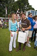 ESTHER HUNT; CLAYTON FREDERICKS, Hackett Rundle Cup 2008. Tidworth. 12 july 2008 *** Local Caption *** -DO NOT ARCHIVE-© Copyright Photograph by Dafydd Jones. 248 Clapham Rd. London SW9 0PZ. Tel 0207 820 0771. www.dafjones.com.