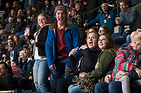 KELOWNA, CANADA - MARCH 3:  Fans on March 3, 2018 at Prospera Place in Kelowna, British Columbia, Canada.  (Photo by Marissa Baecker/Shoot the Breeze)  *** Local Caption ***
