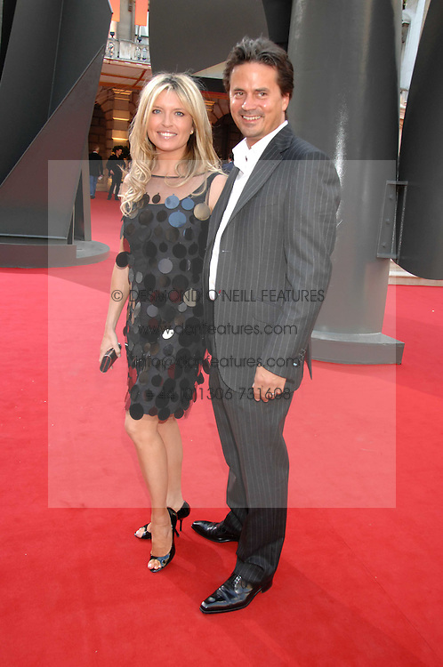 TINA HOBLEY and OLIVER WHEELER at the Royal Academy of Art Summer Exhibition Preview Party on 4th June 2008.<br /><br />NON EXCLUSIVE - WORLD RIGHTS