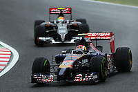 Daniil Kvyat (RUS) Scuderia Toro Rosso STR9.<br /> Japanese Grand Prix, Sunday 5th October 2014. Suzuka, Japan.
