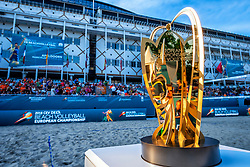 15-07-2018 NED: CEV DELA Beach Volleyball European Championship day 1<br /> Start of the DELA EC Beach Volleyball 2018 /