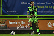 Forest Green Rovers Dominic Bernard(3) on the ball during the EFL Sky Bet League 2 match between Forest Green Rovers and Carlisle United at the New Lawn, Forest Green, United Kingdom on 28 January 2020.