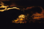 Sunset over the Knowes, Dunblane, Scotland