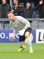 Graham Stack Goalkeeper Barnet, Barnet v Eastleigh, Vanarama Conference, Saturday 4th October 2014