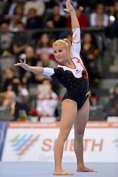 01-12-2012 TURNEN: WORLDCUP DTB POKAL: STUTTGART<br /> Team Meerkamp -  Elisabeth SEITZ GER<br /> ***NETHERLANDS ONLY***<br /> ©2012-FotoHoogendoorn.nl