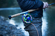 Kilchis River Steelhead Fly Fishing Photos - Images of Mike & Aimee Eaton - archive
