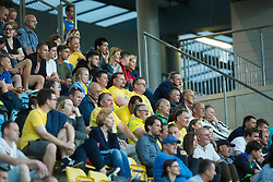 Spectators during 1st leg match of 1st Round Qualifications for European League, on June 28, 2017 in Arena Petrol, Celje, Slovenia. Photo by Ziga Zupan / Sportida