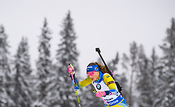 March 8, 2019 - –Stersund, Sweden - 190308 Hanna Öberg of Sweden competes in the Women's 7.5 KM sprint during the IBU World Championships Biathlon on March 8, 2019 in Östersund..Photo: Petter Arvidson / BILDBYRÃ…N / kod PA / 92247 (Credit Image: © Petter Arvidson/Bildbyran via ZUMA Press)