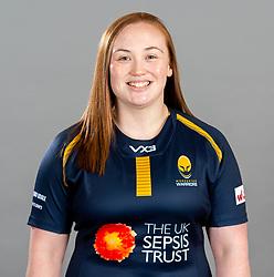Laura Keates during the Worcester Warriors Women Media Day - Ryan Hiscott/JMP - 28/09/2019 - SPORT - Sixways Stadium - Worcester, England - Worcester Warriors Women Media Day