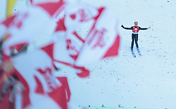 20.12.2015, Nordische Arena, Ramsau, AUT, FIS Weltcup Nordische Kombination, Skisprung, im Bild David Pommer (AUT) // David Pommer of Austria during Skijumping Competition of FIS Nordic Combined World Cup, at the Nordic Arena in Ramsau, Austria on 2015/12/20. EXPA Pictures © 2015, PhotoCredit: EXPA/ JFK
