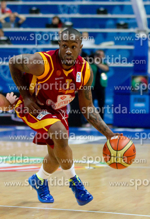Bo McCalebb of Macedonia during basketball game between National basketball teams of  Georgia and Former Yugoslav Republic of Macedonia at FIBA Europe Eurobasket Lithuania 2011, on September 8, 2011, in Siemens Arena,  Vilnius, Lithuania. (Photo by Vid Ponikvar / Sportida)