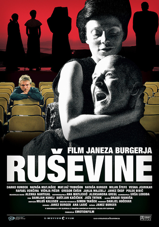 Poster for feature film Ruins-Ruševine directed by Janez Burger. Still photographer: Željko Stevanić/IFP