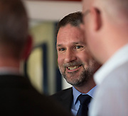 Dundee managing director John Nelms talks to the press - Neil McCann press conference at Dens Park, Dundee, Photo: David Young<br /> <br />  - &copy; David Young - www.davidyoungphoto.co.uk - email: davidyoungphoto@gmail.com