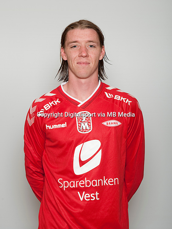 Fotball , Tippeligaen 2014 , Elitesereien , portrett , portretter , Brann , Birkir M&agrave;r S&aelig;varsson<br /> Foto Astrid M. Nordhaug