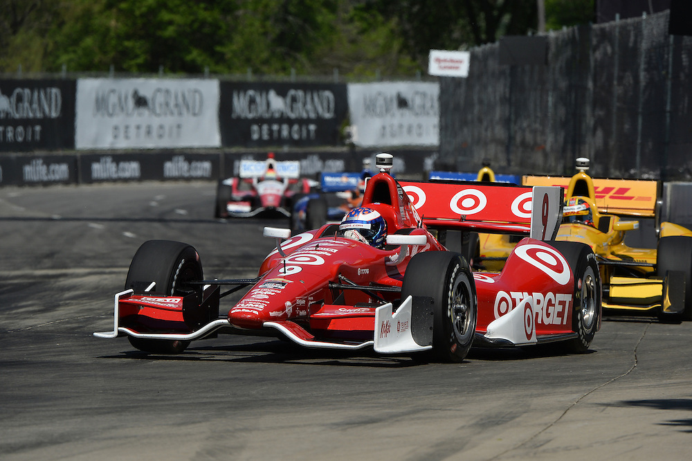 Scott Dixon, The Raceway at Belle Isle Park, Detroit, MI USA 6/1/2014