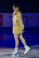 KELOWNA, BC - OCTOBER 24:  Ladies silver medalist Rika Kihira of Japan performs in the gala of Skate Canada International at Prospera Place on October 24, 2019 in Kelowna, Canada. (Photo by Marissa Baecker/Shoot the Breeze)