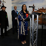 Naz Shah giving her victory speech after defeating George Galloway to become MP for Bradford West in the 2015 General Election.