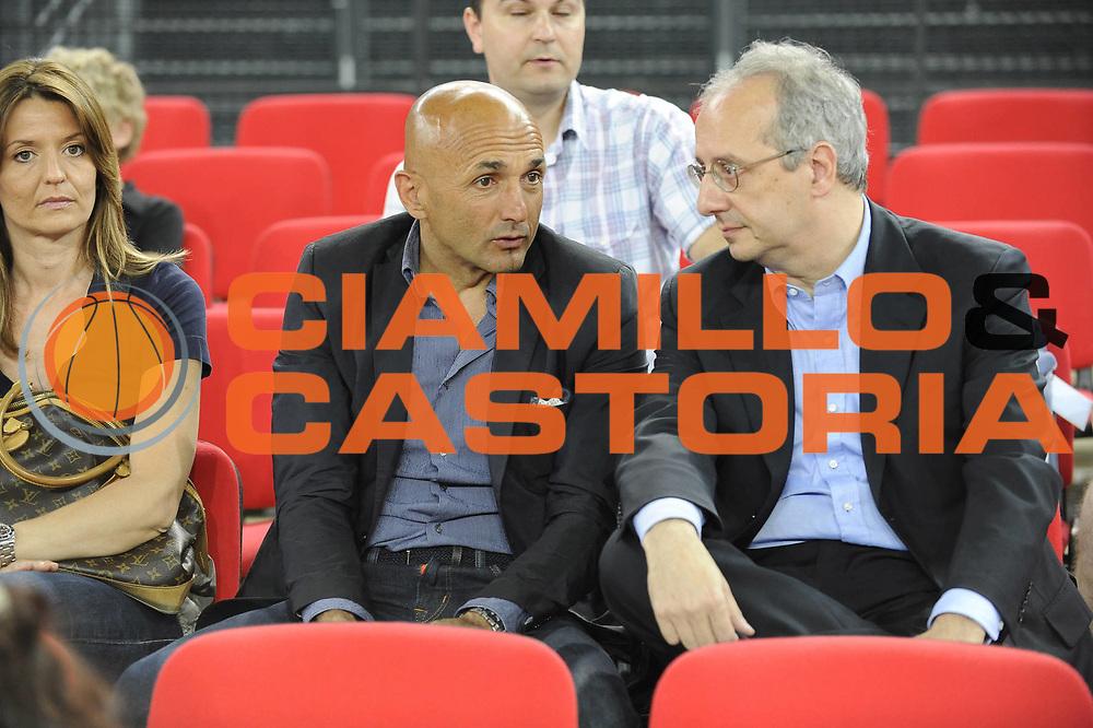 DESCRIZIONE : Roma Lega A 2008-09 Playoff Quarti di finale Gara 5 Lottomatica Virtus Roma Angelico Biella<br /> GIOCATORE : Spalletti Veltroni<br /> SQUADRA : <br /> EVENTO : Campionato Lega A 2008-2009 <br /> GARA : Lottomatica Virtus Roma Angelico Biella<br /> DATA : 26/05/2009<br /> CATEGORIA : Ritratto<br /> SPORT : Pallacanestro <br /> AUTORE : Agenzia Ciamillo-Castoria/G.Ciamillo