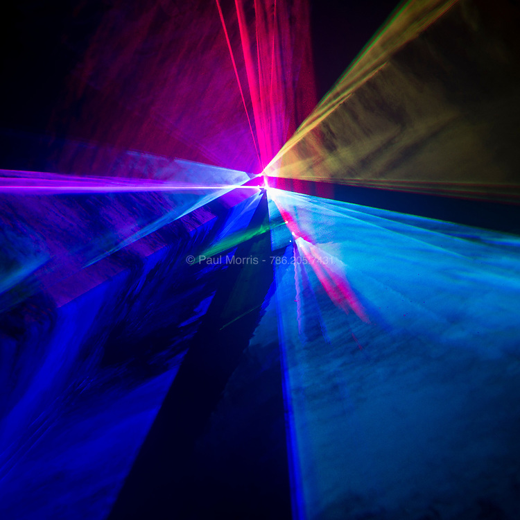 Laser light portals to another dimension