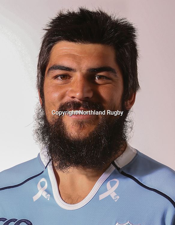 Mathew Wright. Headshots of the Northland ITM Cup rugby union team for the 2015 season.