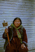 Women in traditional costume - Ley - Ladakh Himalayas - 2006