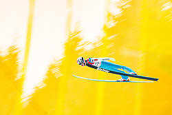 12.01.2018, Kulm, Bad Mitterndorf, AUT, FIS Skiflug Weltcup, Training, im Bild Robert Johansson (NOR) // Robert Johansson of Norway during his Practice Jump of FIS Ski Flying World Cup at the Kulm, Bad Mitterndorf, Austria on 2018/01/12, EXPA Pictures © 2018, PhotoCredit: EXPA/ Dominik Angerer