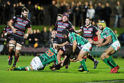 Benetton held on despite pressure at the end of the Guinness Pro 14 2017_18 match between Edinburgh Rugby and Benetton Treviso at Myreside Stadium, Edinburgh, Scotland on 15 September 2017. Photo by Kevin Murray.