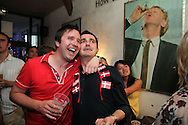 Denmark v Japan at Nordic, Newman Street.<br /> <br /> Copyright: Jonathan GoldbergWorld Cup 2010 watched  on London TV<br /> Denmark v Japan at Nordic in Soho
