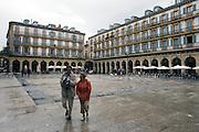 Plaza de la Constitucion, San Sebastian.