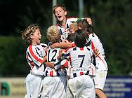 30-08-2008 VOETBAL:AUDAX JEUGDTOERNOOI 2008:TILBURG<br /> D-pupillen van Willem II vieren hun doelpunt<br /> Foto: Geert van Erven