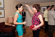 DANNII MINOGUE; KATHY LETTE Terry Ronald - book launch party for his book ' Becoming Nancy' . The Westbury Hotel, Pine Room, Bond Street, London, W1S 2YF<br /> -DO NOT ARCHIVE-&copy; Copyright Photograph by Dafydd Jones. 248 Clapham Rd. London SW9 0PZ. Tel 0207 820 0771. www.dafjones.com.