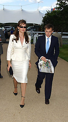 LADY ROSE INNES-KER daughter of the 10th Duke of Roxburghe and the HON.ED SACKVILLE at the 4th dfay of the 2005 Glorious Goodwood horseracing festival at Goodwood Racecourse, West Sussex on 29th July 2005.    <br /><br />NON EXCLUSIVE - WORLD RIGHTS