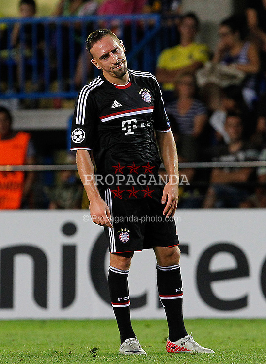 14.09.2011, Estadio El Madrigal, Villareal, ESP, UEFA CL, Villareal CF v FC Bayern Muenchen, im Bild FC Bayern Munchen's Franck Ribery during UEFA Champions League match.September 14,2011. EXPA Pictures © 2011, PhotoCredit: EXPA/ Alterphoto/ Acero +++++ ATTENTION - OUT OF SPAIN/(ESP) +++++